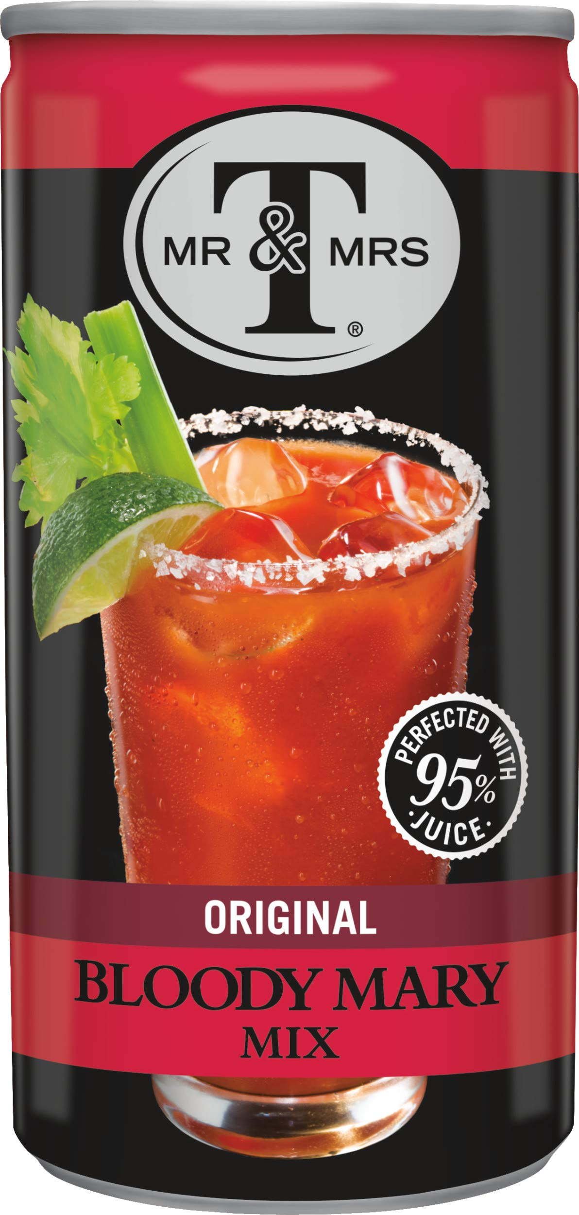 Mr & Mrs T Original Bloody Mary Mix, 5.5 Fluid Ounce Can, 24 Count by Mr. & Mrs. T (Image #1)