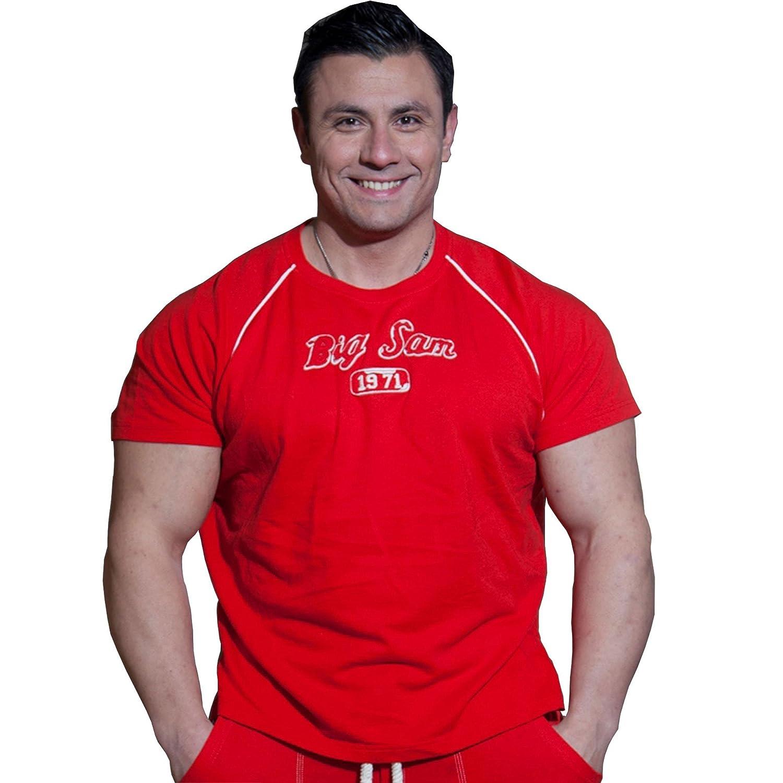 BIG SM EXTREME SPORTSWEAR Herren Ragtop Rag Top Sweater T-Shirt Bodybuilding 3113
