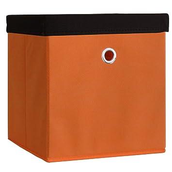 """VCM """"Boxas Plegable/de Almacenamiento/Caja Forrada con Tela, con Tapa"""