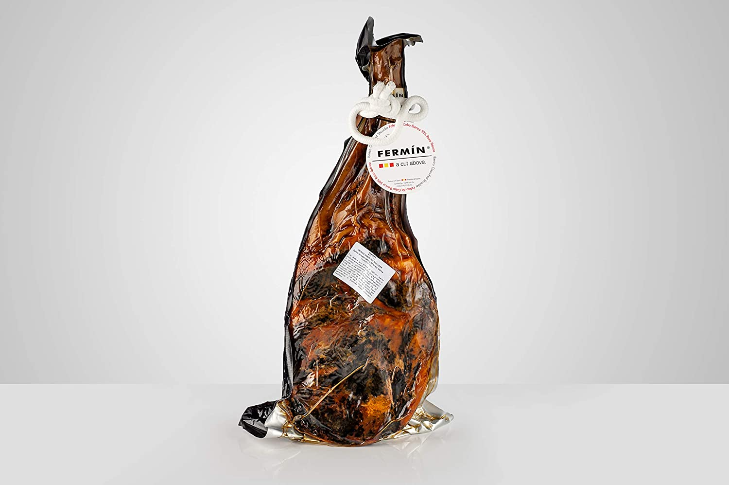 Fermin Iberico Shoulder (10-11 lbs) All natural, No Nitrites or Nitrites Added. Exclusive by Dao Gourmet Foods (No Accessories Included)