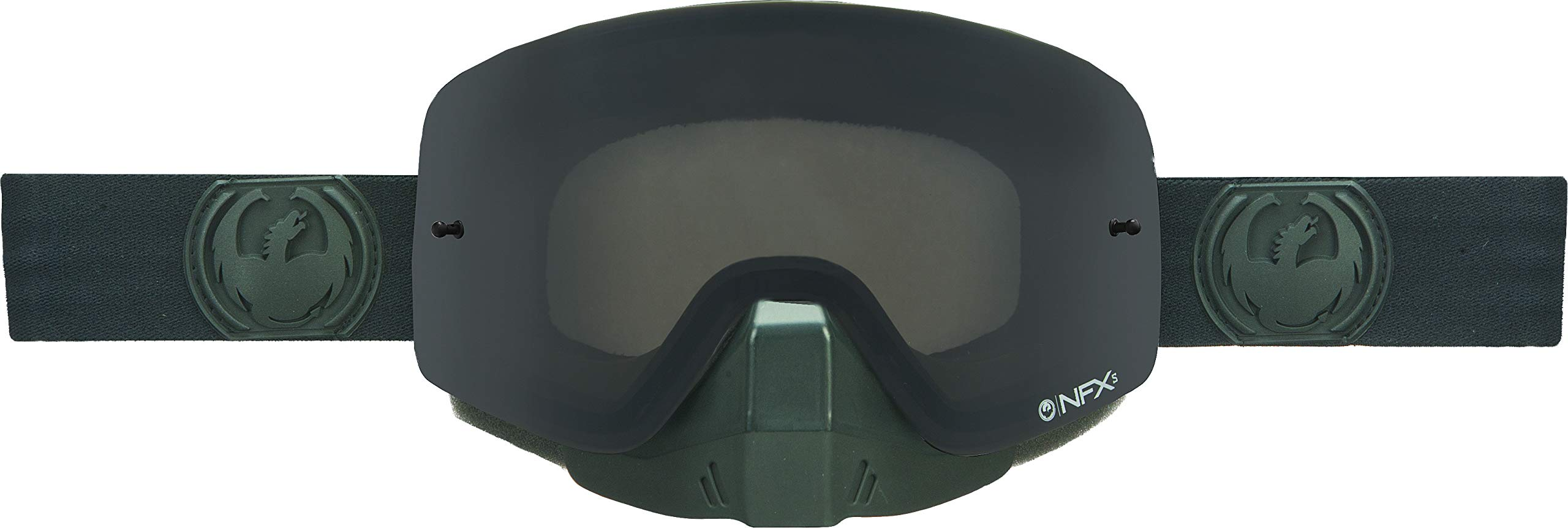 Dragon Alliance Unisex-Adult Nfxs Snow Goggle Knight Rider Kit/Poly Lenses One Size