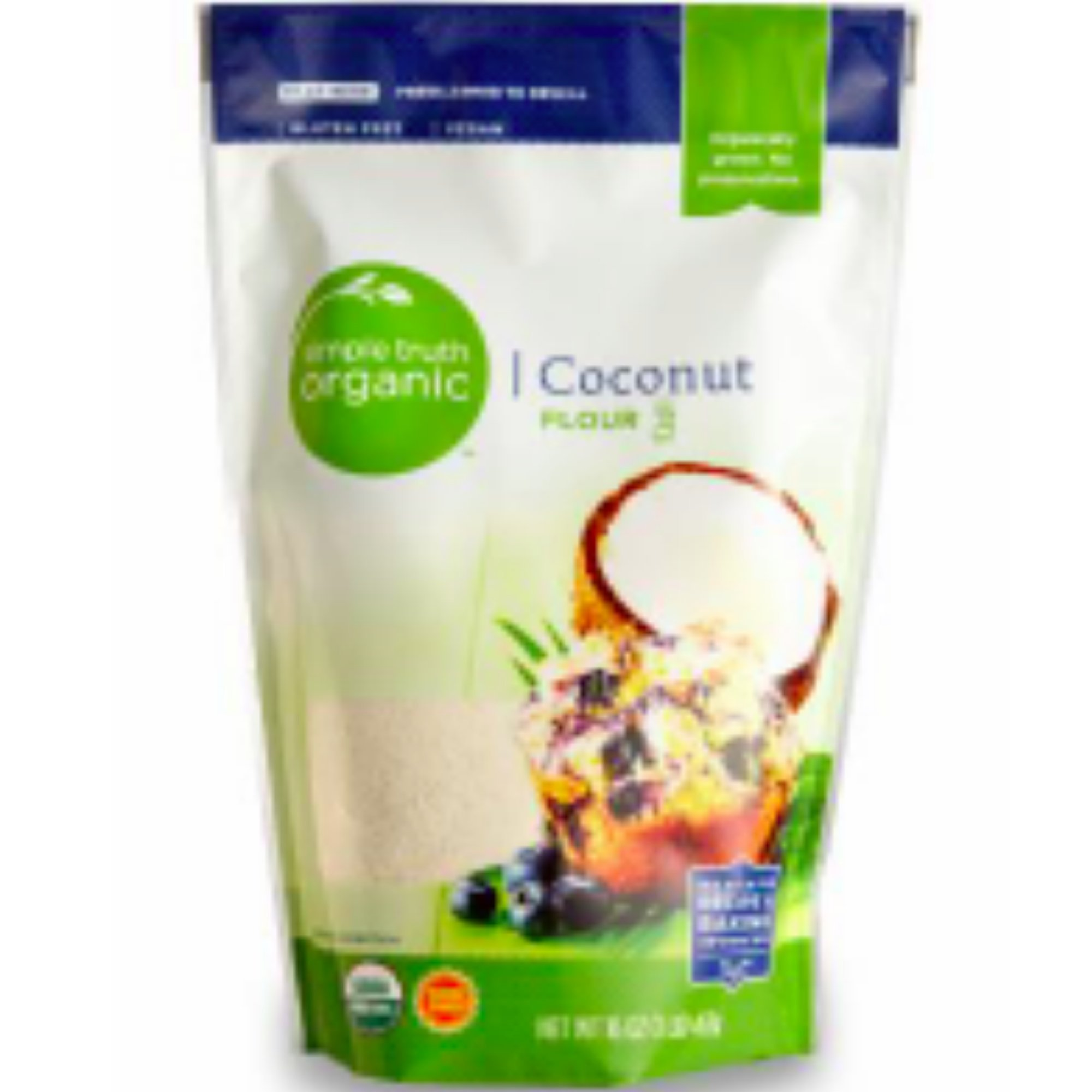 Simple Truth Organic Coconut Flour 16 oz (Single bag)