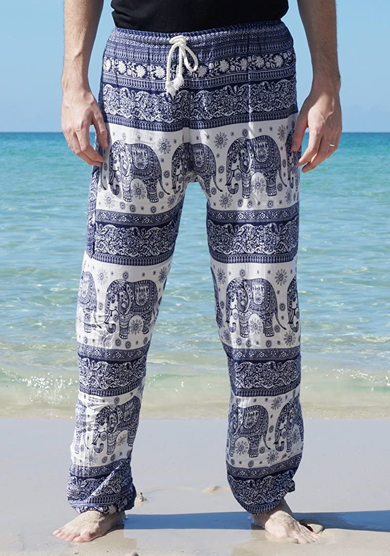 Thaisicha DamenHerren SirwalHaremshose, Elefanten Design