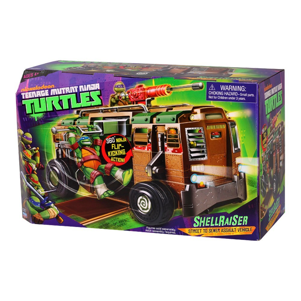 TORTUGAS NINJA Teenage Mutant Ninja Turtles - Playset (14094011)