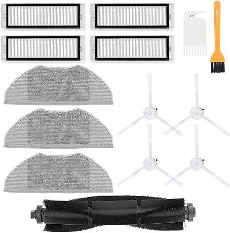 Haupt /& Seite Bürste /& HEPA Filter Ersatzteile für 360 S5 S7 Robot Staubsauger
