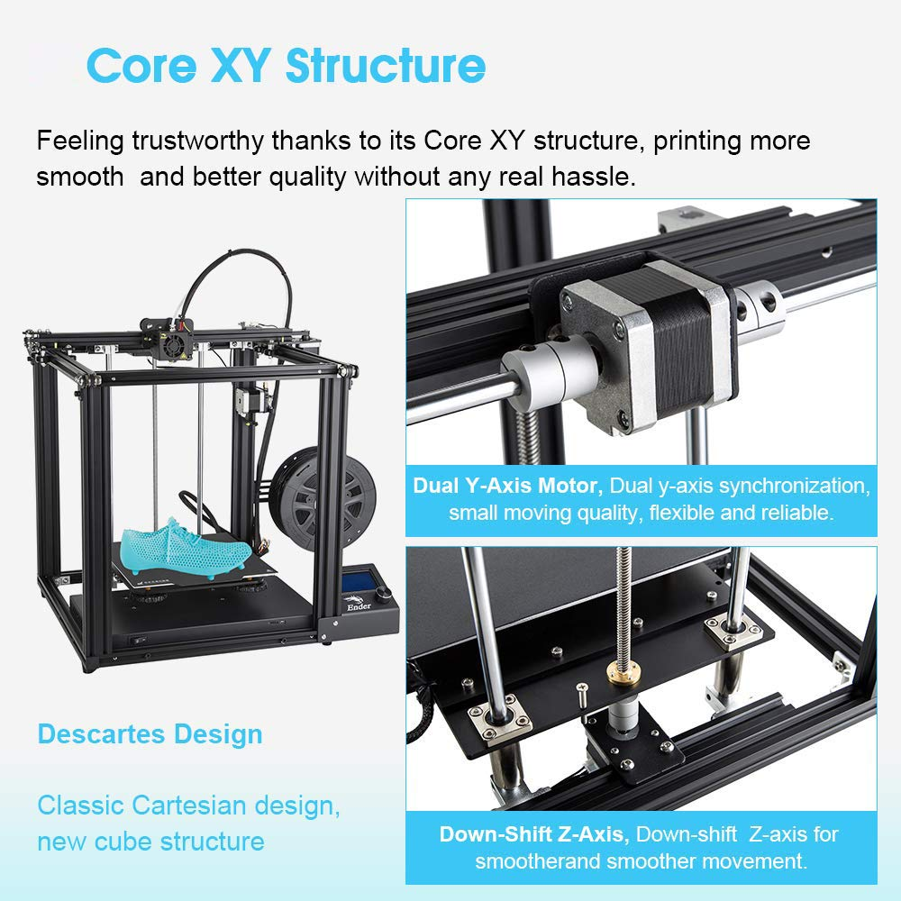 Creality 3D Ender-5 - Kit de impresora 3D (220 x 220 x 300 mm ...