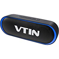 VTIN R4 Altavoz Bluetooth 12W, Altavoz Portatil Bluetooth 5.0, 24H de Reproducción, Altavoz Exterior con Micrófono, AUX…
