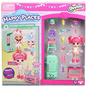 Shopkins Happy Places Season 3 Welcome Pack - Gourmet Kitty Kitchen
