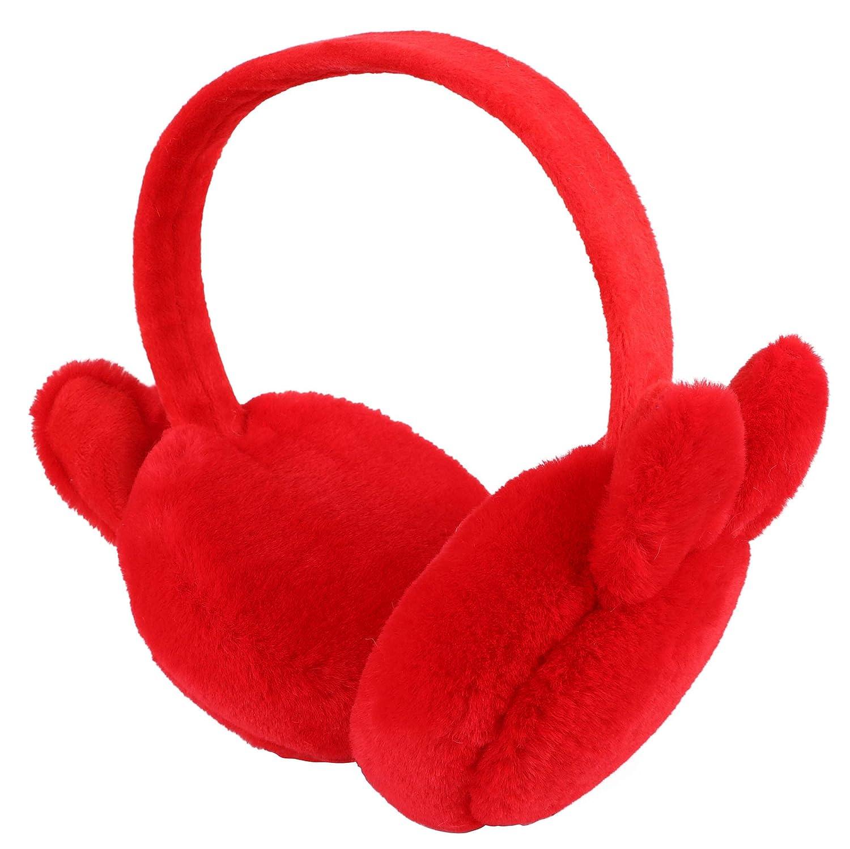 Lullaby Girls Earmuffs Foldable Ear Warmers Winter EarMuffs
