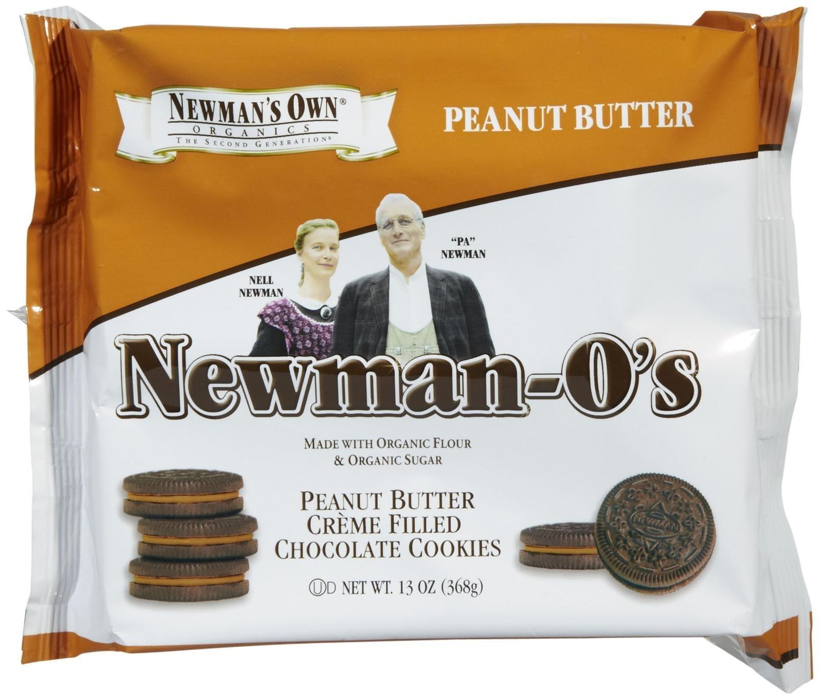 Newman's Own Organics Peanut Butter Newman O's, 13 oz