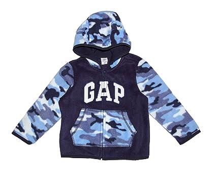 2b8aade19 Amazon.com  GAP Baby Boys Logo Fleece Colorblocked Camo Hoodie  Clothing