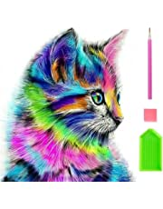 5D Full Drill Diamond Painting Embroidery Cat Cross Stitch Kit Home Decor