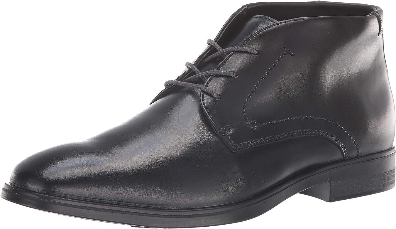 ECCO Men's Melbourne Boot Chukka, Black