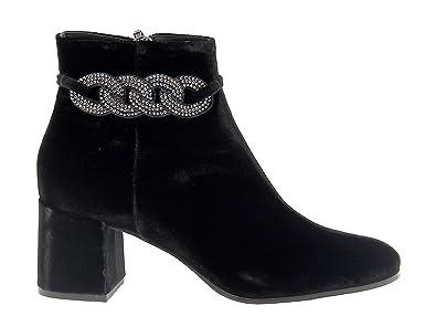 Femme Suède Et Bottines Fabi Noir Fd4925black Chaussures tqtwdOx