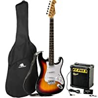 Redwood RS2 Electric Guitar/Redwood 10W Amplifier Beginners Pack - Sunburst