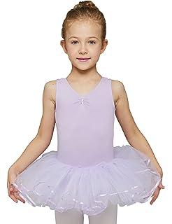 cab080f14bcd Amazon.com  Pink - Girls Basic Ballerina Tutu Ballet Dress-up 3 ...