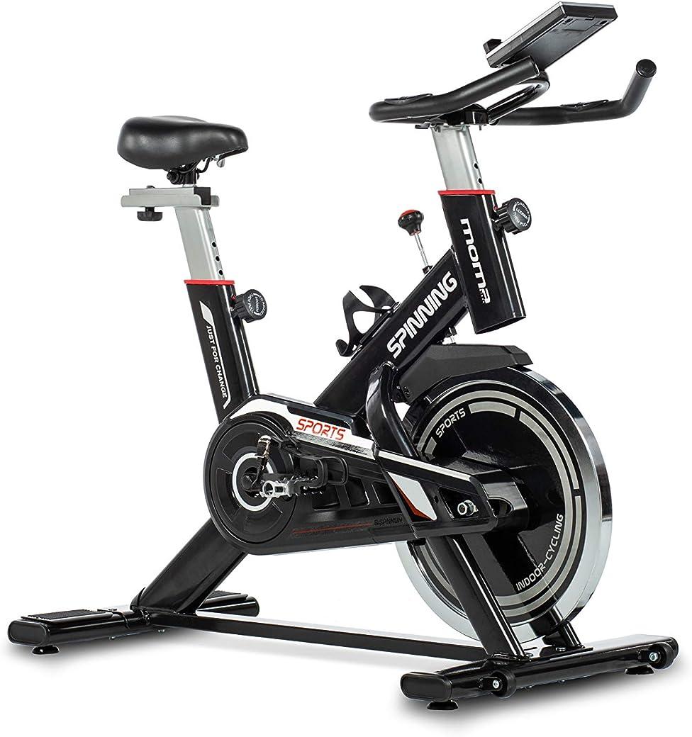 Moma Bikes - Bicicleta Spinning con Volante de Inercia de 24 kg