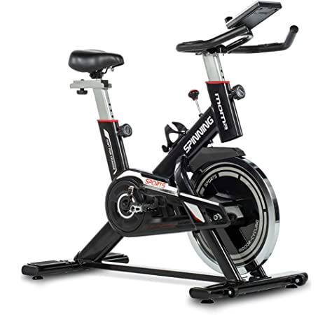 FITFIU Fitness BESP-300 Bicicleta Spinning BESP-24 Profesional Volante inercia Pantalla LCD, Unisex Adulto, Negro, 24kg BESP300: Amazon.es: Deportes y aire libre