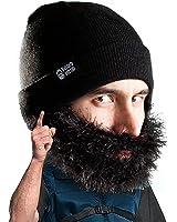 Beard Head - The Original Bushy Biker Knit Beard Beanie