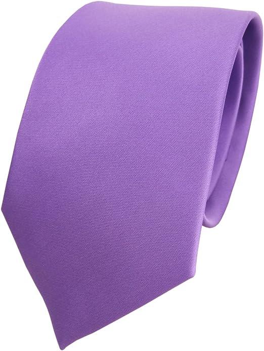 TigerTie - diseñador lazos de satén en morado lila monocromo ...