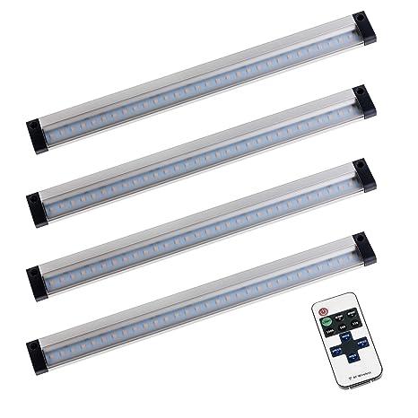 SEBSON® 4x LED sottopensile luce calda, dimmerabile (controllo ...