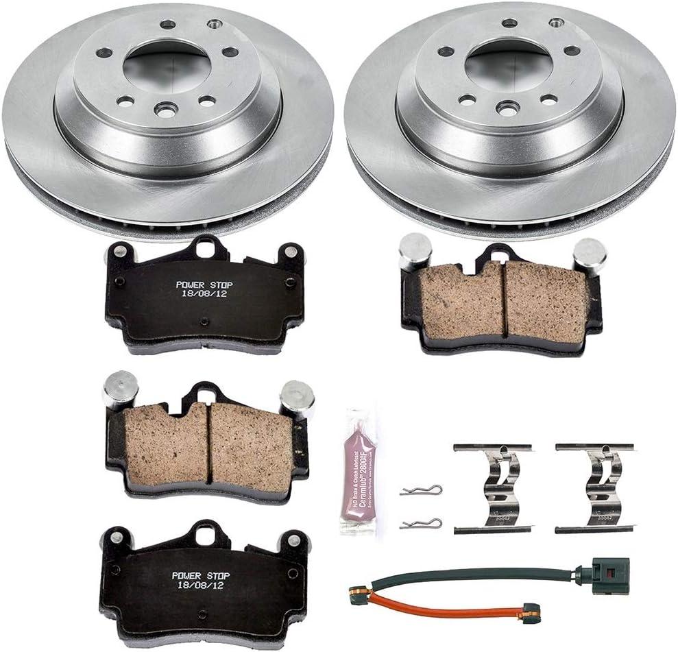 For Porsche Cayenne 2011-2012 Disc Brake Pads Brake Kit Front+Rear OEM
