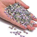 Hotfix 水钻圆形平背水晶玻璃平背美甲 Crystal AB/SS30 SS30 Massive Beads