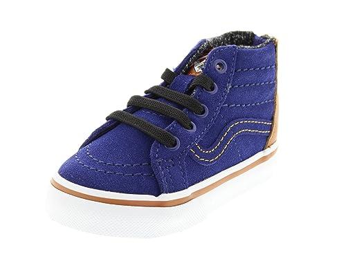 f3c43af305 Vans Sk8 Hi Zip Boys Toddler Boots  Amazon.co.uk  Shoes   Bags