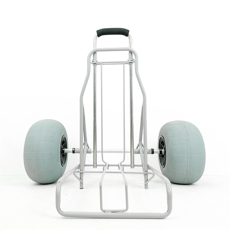 Kona playa - carro plegable grande globo neumáticos carrito de movilidad arena y playa: Amazon.es: Oficina y papelería