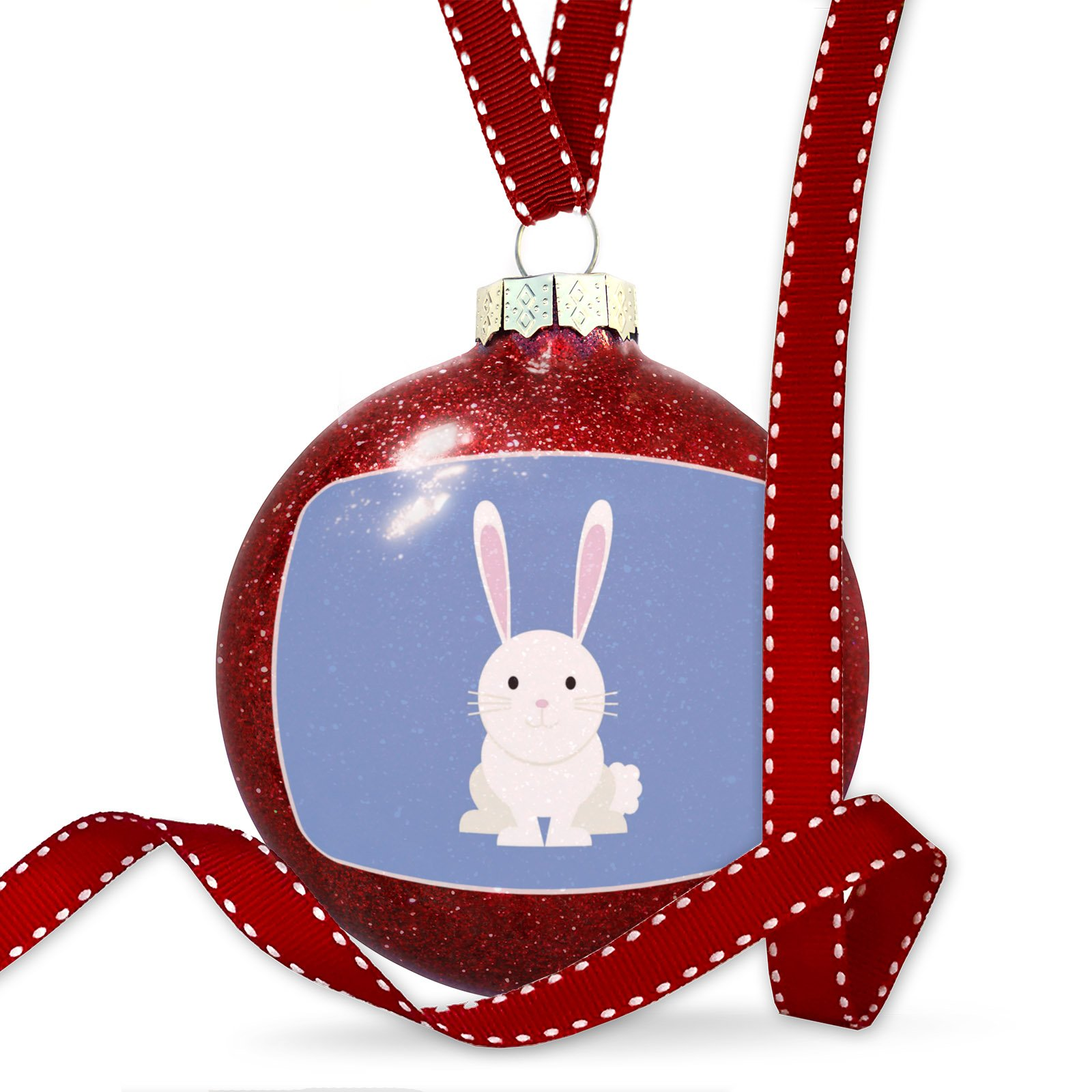 Christmas Decoration Cute Animals for Kids Bunny Ornament