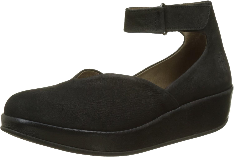 Fly London Bela785fly, Zapatos con Tacon y Correa de Tobillo para Mujer