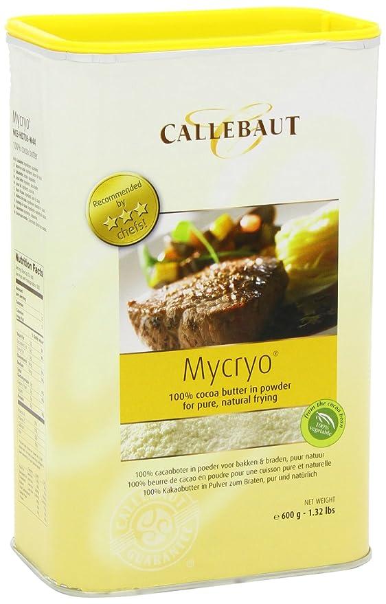 Callebaut - Polvo de Manteca de Cacao Mycryo - 600g