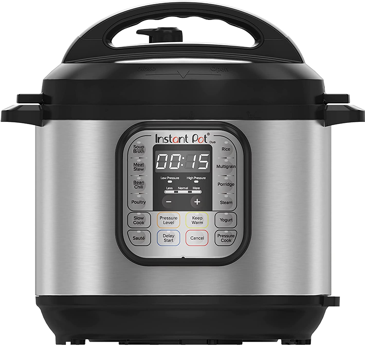 Instant Pot Duo 7-in-1 Electric Pressure Cooker, Slow Cooker, Rice Cooker, Steamer, Saute, Yogurt Maker, Sterilizer, and Warmer, 6 Quart, 14 One-Touch Programs