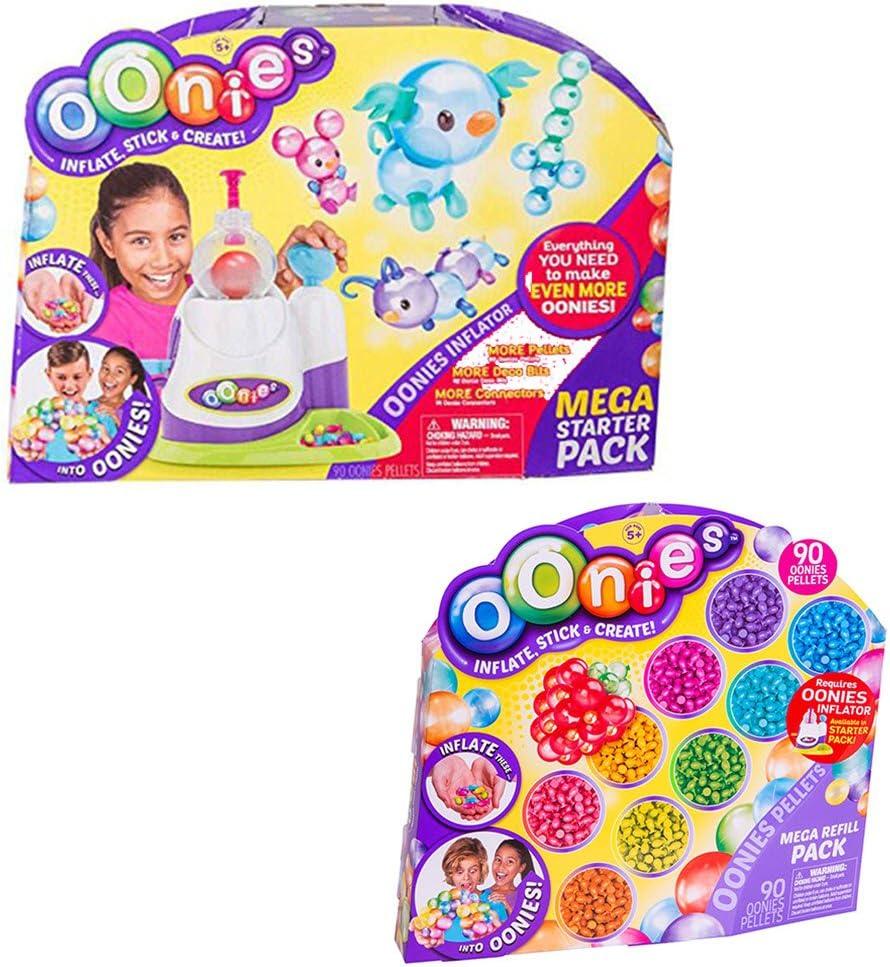 Oonies Mega Starter Pack, Paquete con Oonies Mega Paquete de Repuesto: Amazon.es: Juguetes y juegos