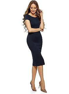 oodji Collection Mujer Vestido Midi (Pack de 2)