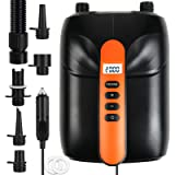 20PSI SUP Electric High Air Pump, 12V Smart high Pressure Pump with Intelligent Dual Stage & Auto-Off Function for Air Mattre
