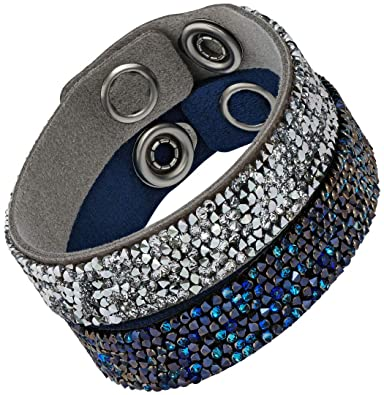 11efaa10e Image Unavailable. Image not available for. Color: Swarovski Crystal Rock  Bracelet Set