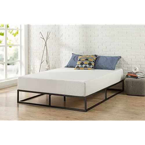 Zinus Modern Studio 10 Inch Platforma Low Profile Bed Frame, Mattress  Foundation, Boxspring Optional