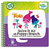 LeapFrog LeapStart 3D Trolls Solve It All with Poppy and Branch Book