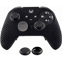 eXtremeRate mjuk halkfri silikonskydd skinn tumgrepp kepsar skyddande fodral för Xbox One Elite Controller, XB Elite V2…