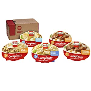 Hormel Compleats - Protein Variety Pack - Microwave Meals - No Refrigeration Needed