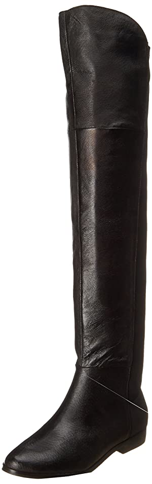 Chinese Laundry Women's Riley Nappa Pig L Riding Boot, Black, 9.5 M US