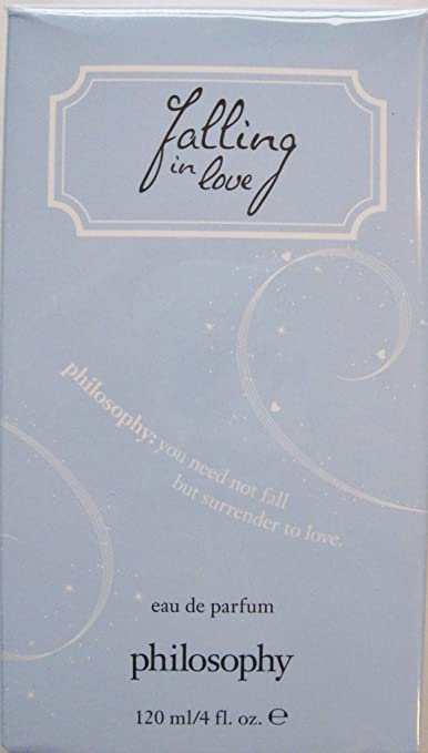 Philosophy Falling in Love Eau de Parfum 4 Fl Oz Light Blue Box