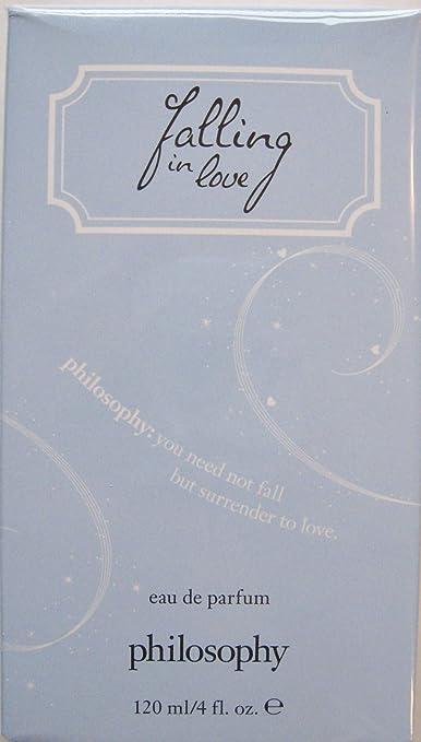 Philosophy Falling in Love Eau de Parfum 4 Fl Oz Light Blue Box