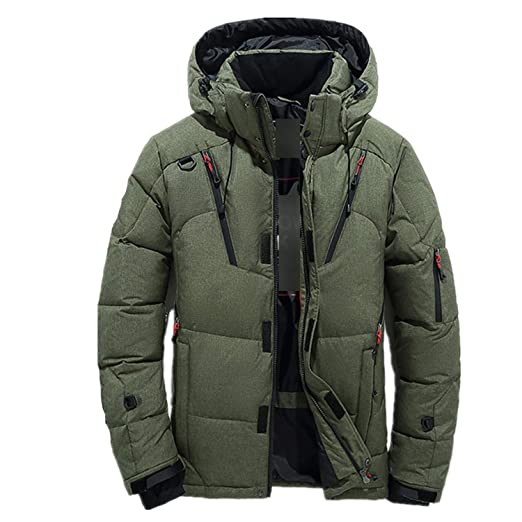 New 90% White Duck Thick Down Jacket Coat Snow Parkas Hood Winter Down Coat Thickening