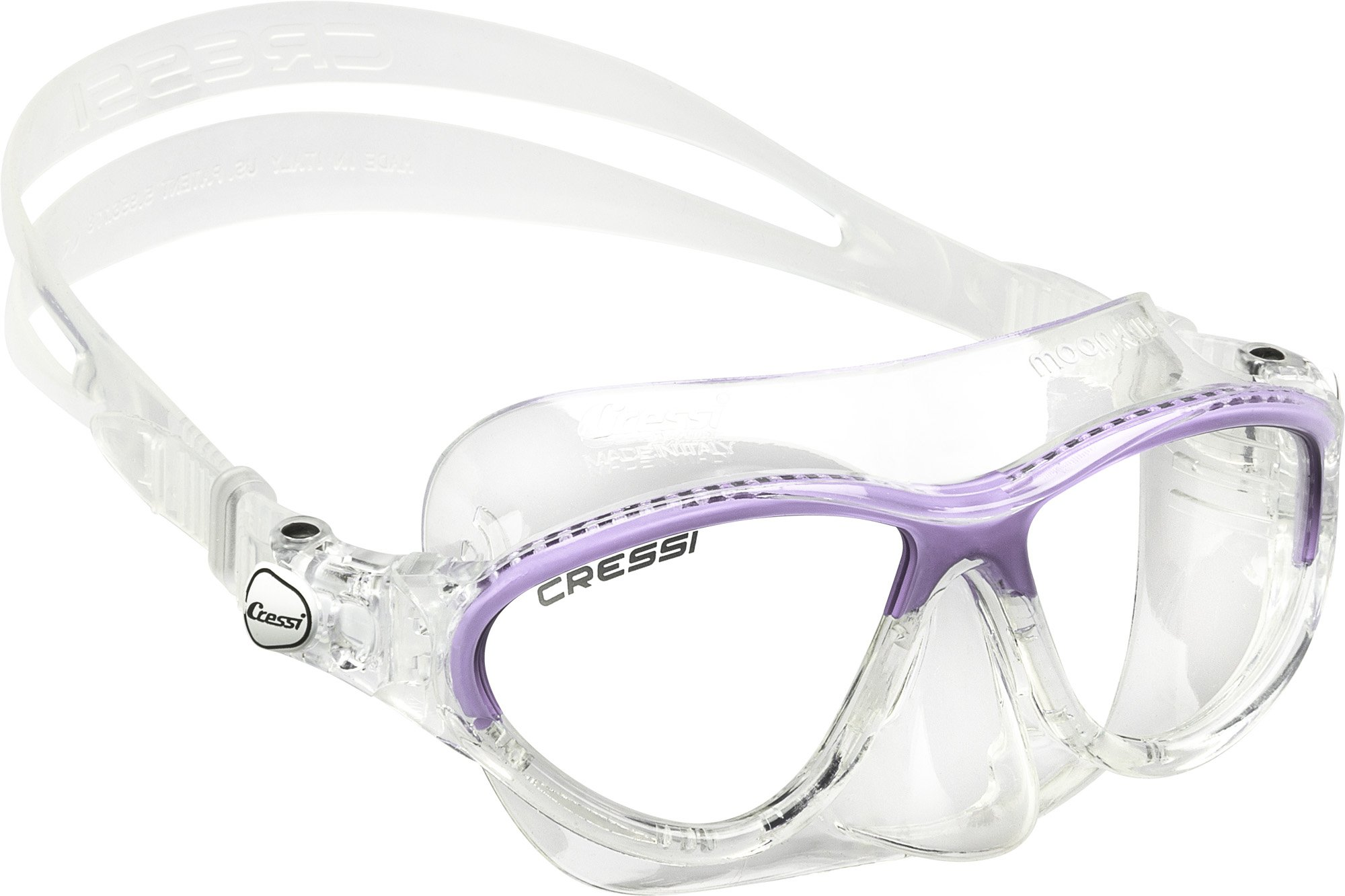 Cressi Moon, Clear/Lilac
