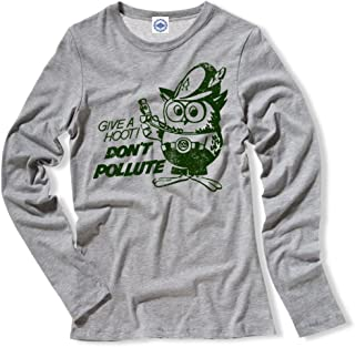 product image for Hank Player U.S.A. Official Woodsy Owl Women's Long Sleeve T-Shirt