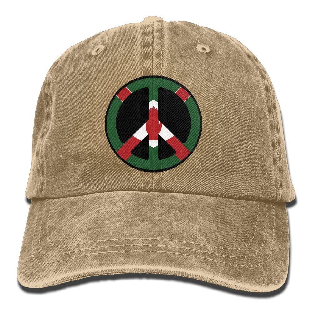 LETI LISW Northern Ireland PeaceClassicBaseball Cap Adult Unisex Adjustable Hat