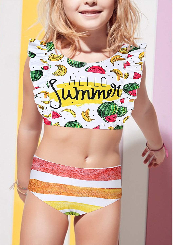 Swimwear Bikini Beach Ba g.Swimsuit Classic Age Plaid ming Cute Girl Swimsuit