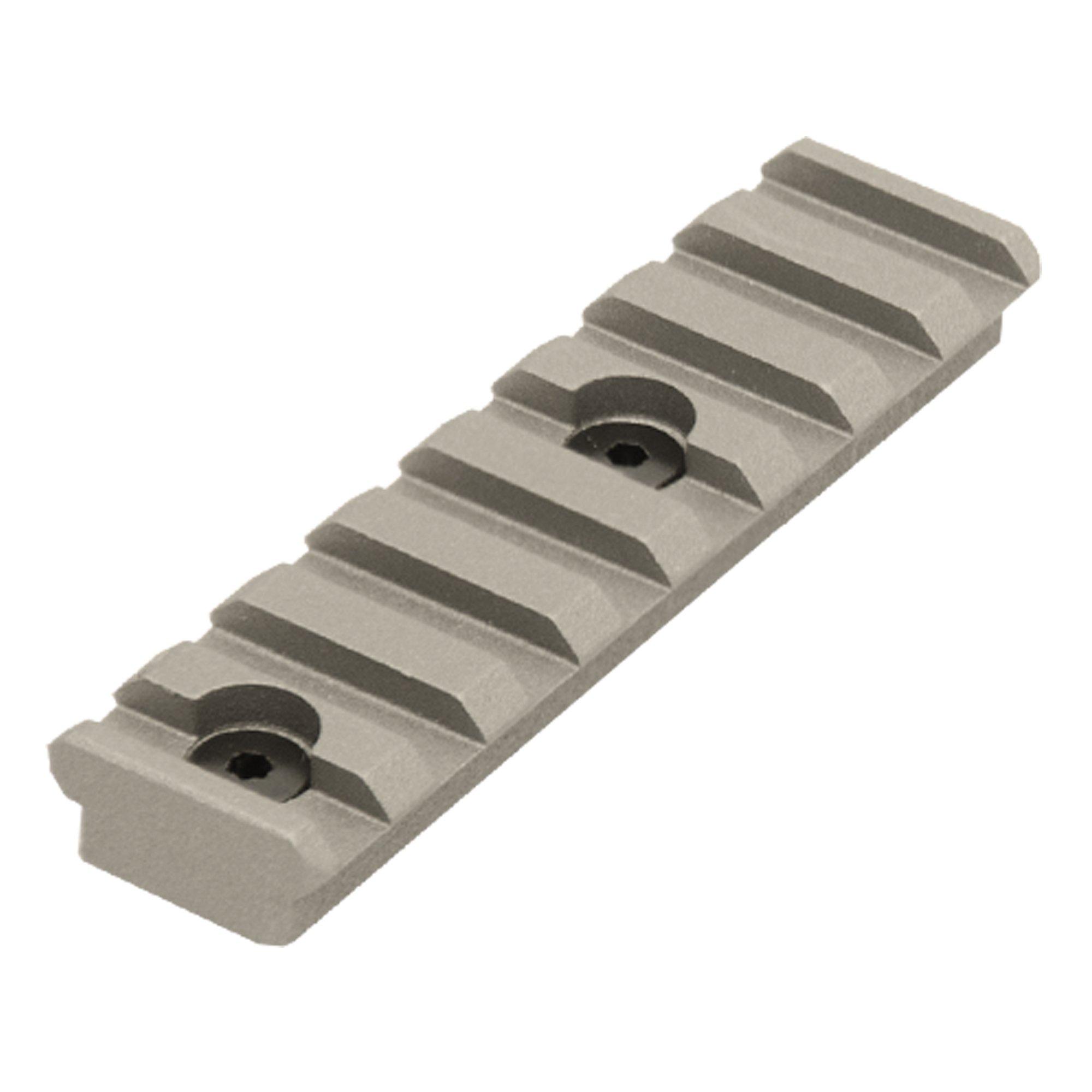 UTG PRO 8-Slot Keymod Picatinny Rail Section-Gun Metal Grey